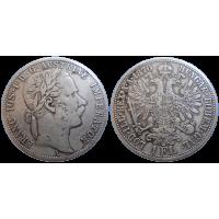 František Jozef I. 1 zlatník 1870 A