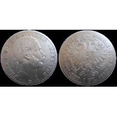 František Jozef I. 1 zlatník 1867 B