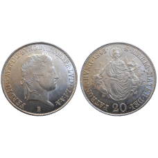 Ferdinand V. 20 grajciar 1843 B