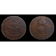 František II. 1/4 grajciar 1816 A