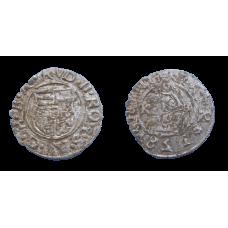 Rudolf II. Denár 1581 KB