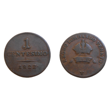 František II. 1 Centesimo 1822 V