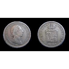 František II. 1/4 Líra 1822 V