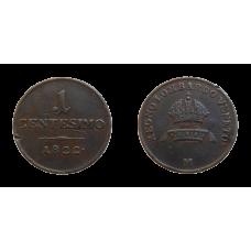 František II. 1 Centesimo 1822 M