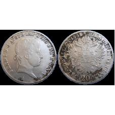 Ferdinand V. 20 grajciar 1841 A