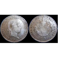 Ferdinand V. 20 grajciar 1840 B