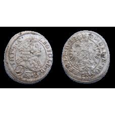 Leopold I. 1 grajciar 1701 Kutná Hora