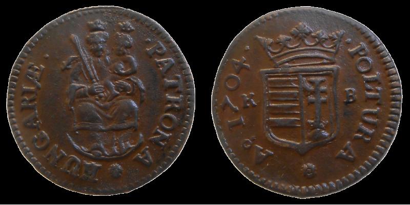 František II. Rákoci poltura 1704 KB