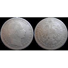 František Jozef I. 1 zlatník 1858 A