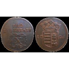 František II. Rákoci X poltura 1706