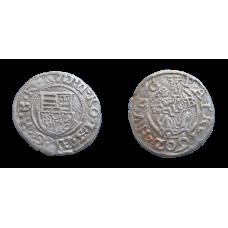 Rudolf II. denár 1602 KB