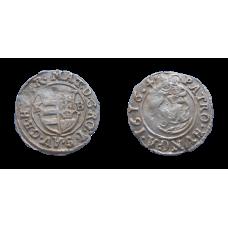 Matej II. denár 1616 KB
