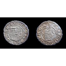 Rudolf II. denár 1607 KB