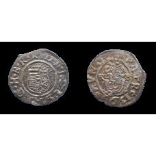 Rudolf II. denár 1591 KB