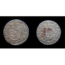 Maximilián II. denár 1566 KB