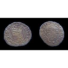 Maximilián II. denár 1572 KB