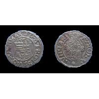 Maximilián II. denár 1568 KB