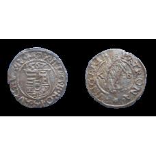 Maximlián II. denár 1567 KB