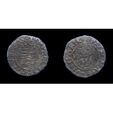 Maximilián II. denár 1573 KB