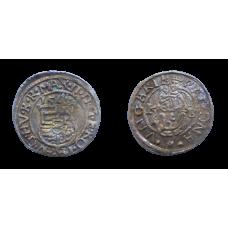 Maximilián II. denár 1569 KB