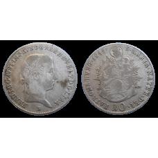 Ferdinand V. 10 grajciar 1845 B