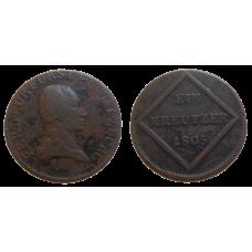 Arcibiskupstvo Salzburg 1 grajciar 1805
