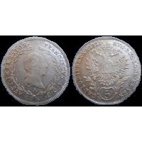 František II. 5 grajciar 1821 A
