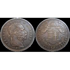 František Jozef I. 1 zlatník 1869 GYF