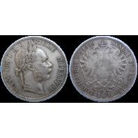 František Jozef I. 1 zlatník 1889 bz