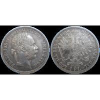 František Jozef I. 1 zlatník 1890 bz