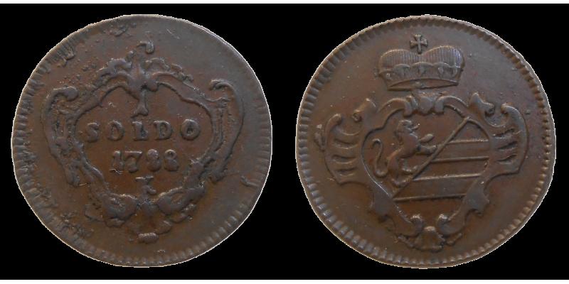 Jozef II. 1 Soldo 1788 K