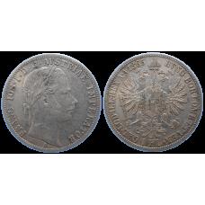 František Jozef I. 1 zlatník 1865 A R