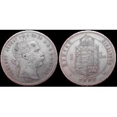 František Jozef I. 1 zlatník 1879 KB