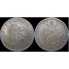 František Jozef I. 2 zlatník 1878 bz