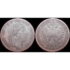 František Jozef I. 1 zlatník 1866 A R!
