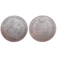 František Jozef I. 1 zlatník 1873 KB