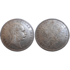 František Jozef I. 2 zlatník 1890 bz
