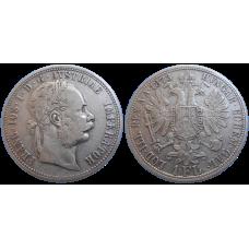 František Jozef I. 1 zlatník 1873 bz