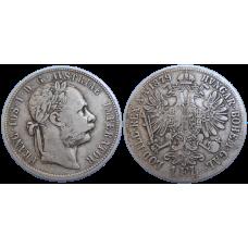 František Jozef I. 1 zlatník 1879 bz