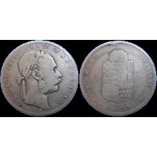 František Jozef I. 1 zlatník 1880 KB