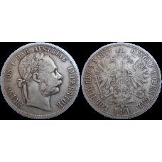 František Jozef I. 1 zlatník 1877 bz