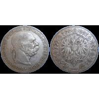 František Jozef I. 5 koruna 1900 bz