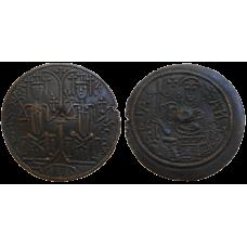 Bela III. denár byzantského typu