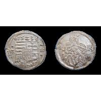 Ľudovít II. Jagelovský denár 1523 LK