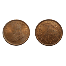India 1/12 Anna 1930