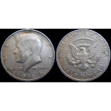 USA Half Dollar 1968 D