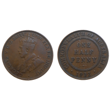 Australia Half Penny 1932