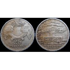 Libanon 25 Piastres 1936