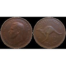 Australia One Penny 1943