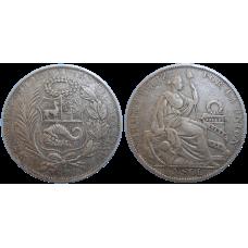 Peru 1 Sol 1930